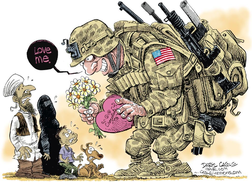 (USA), paru sur MSNBC.com et CagleCartoons