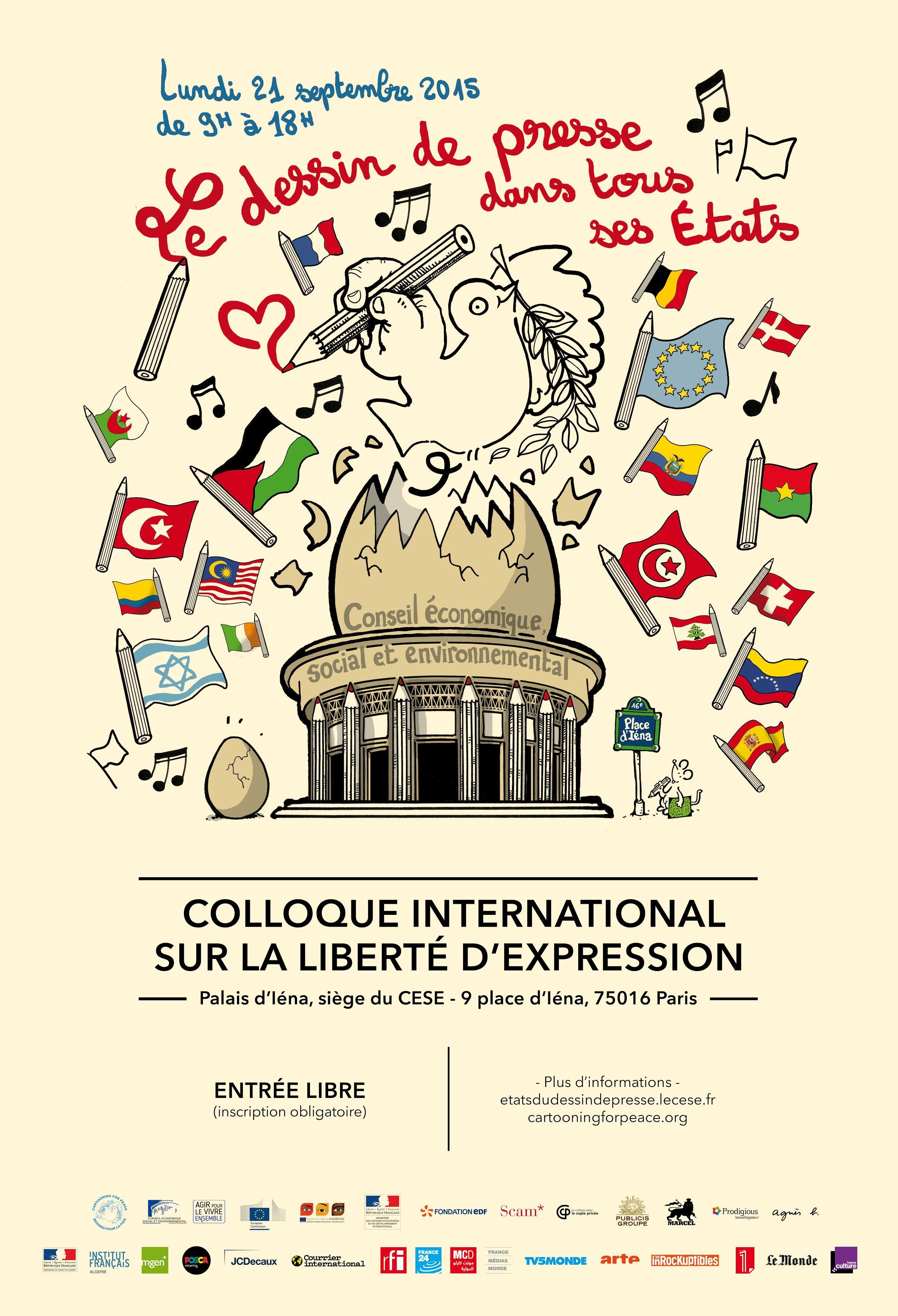 Le dessin de presse dans tous ses tats cartooning for peace - Dessin de tous ...
