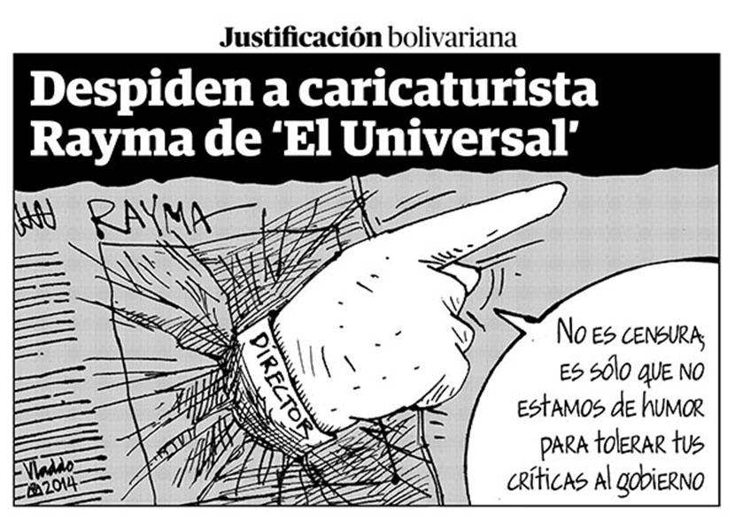 Vladdo (Columbia) – Bolivarian justification