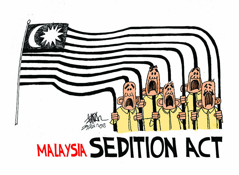Sedition Act, by Zunar