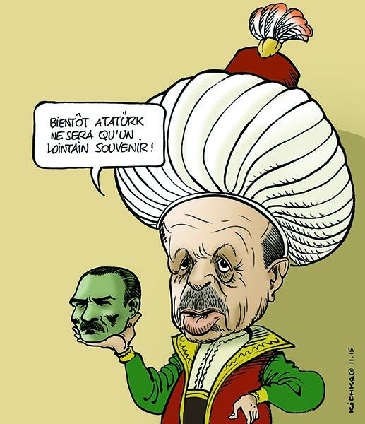 Atatürk will be soon an old memory – Kichka (Israel), on i24news