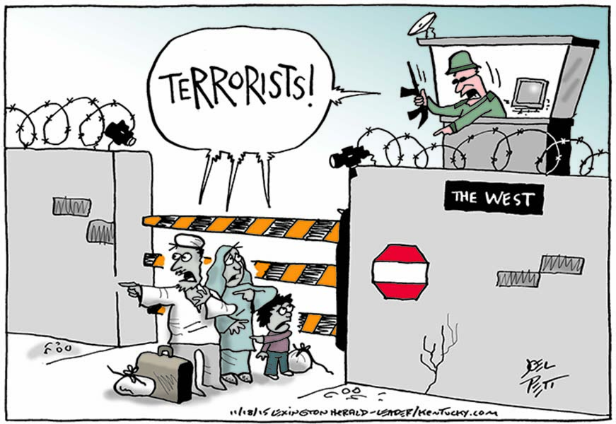 "Joel Pett (USA) – published in ""The Lexington Herald"""