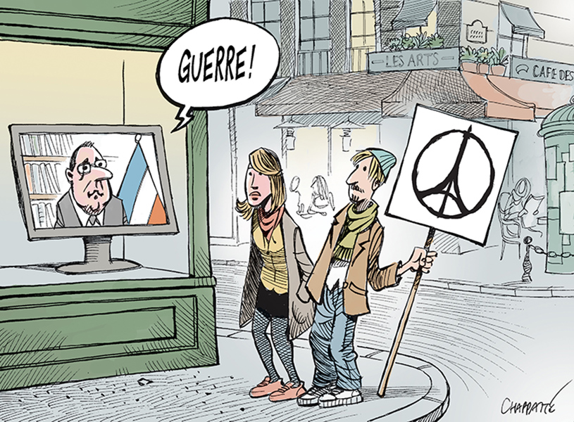 """Chappatte (Switzerland), published in """"Le Temps"""""""