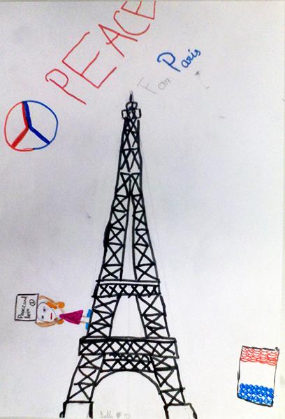 Atelier avec le dessinateur Hani Abbas, à la suite des attentats du 13 novembre – Collège international de Genève