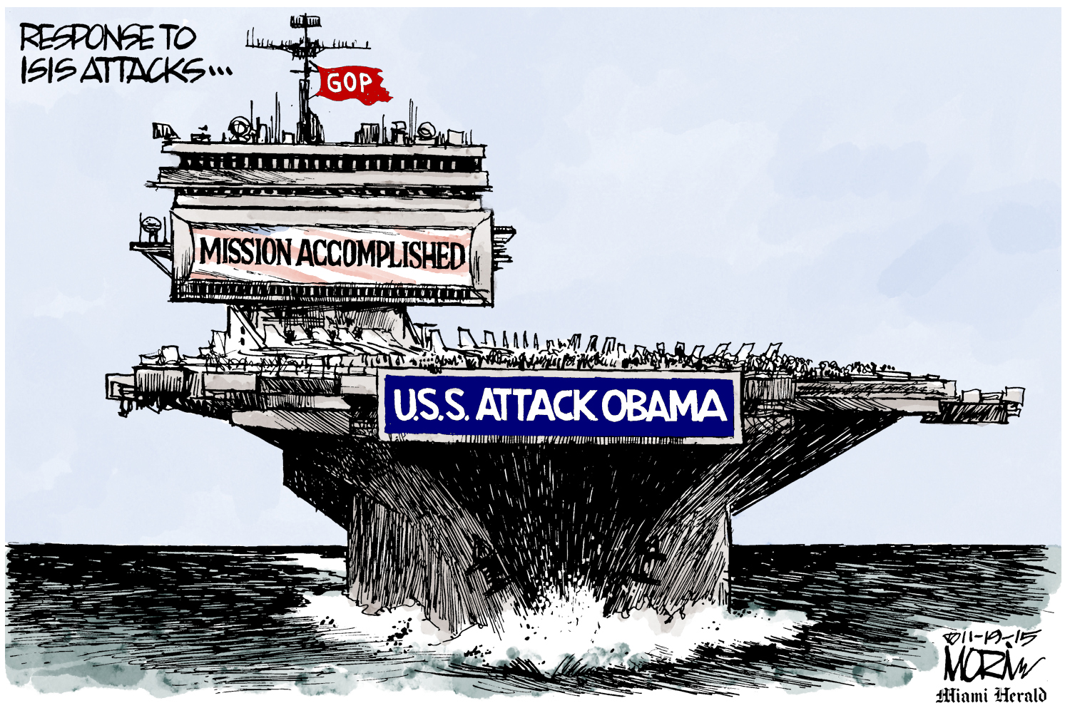 """Morin (USA), published in """"The Miami Herald"""""""