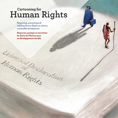 Cartooning for Human Rights, étude n° 8.indd