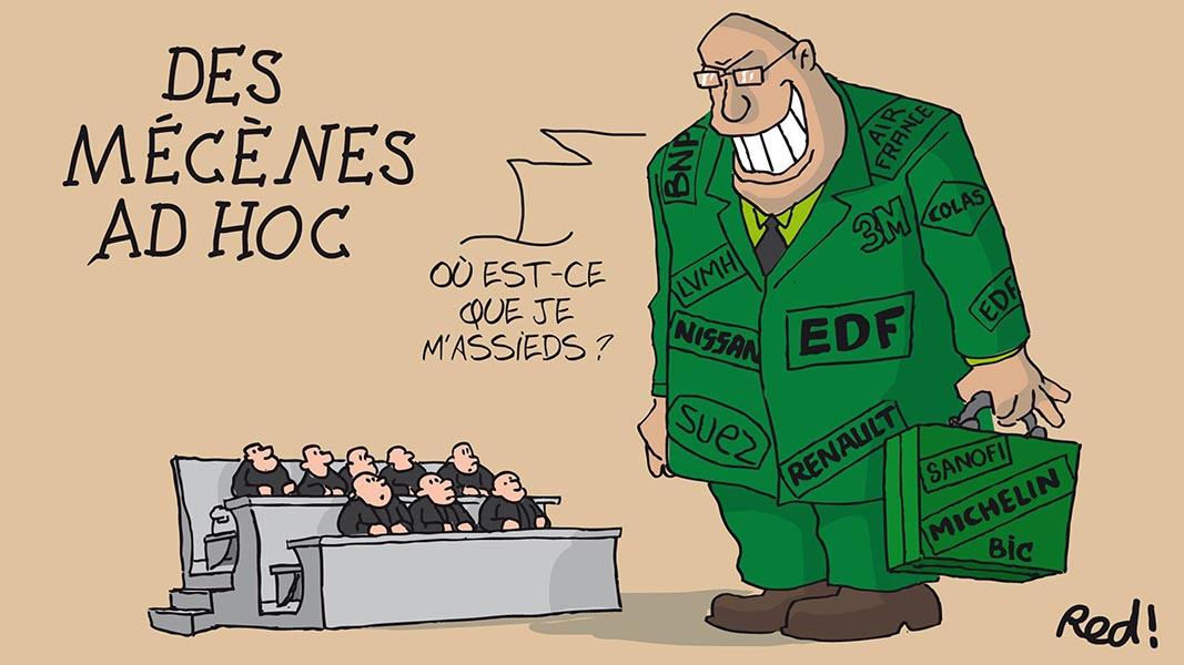 Des Mécènes…ad hoc, par Le Red ! (France) – Gazette de la COP du 02/12/2015