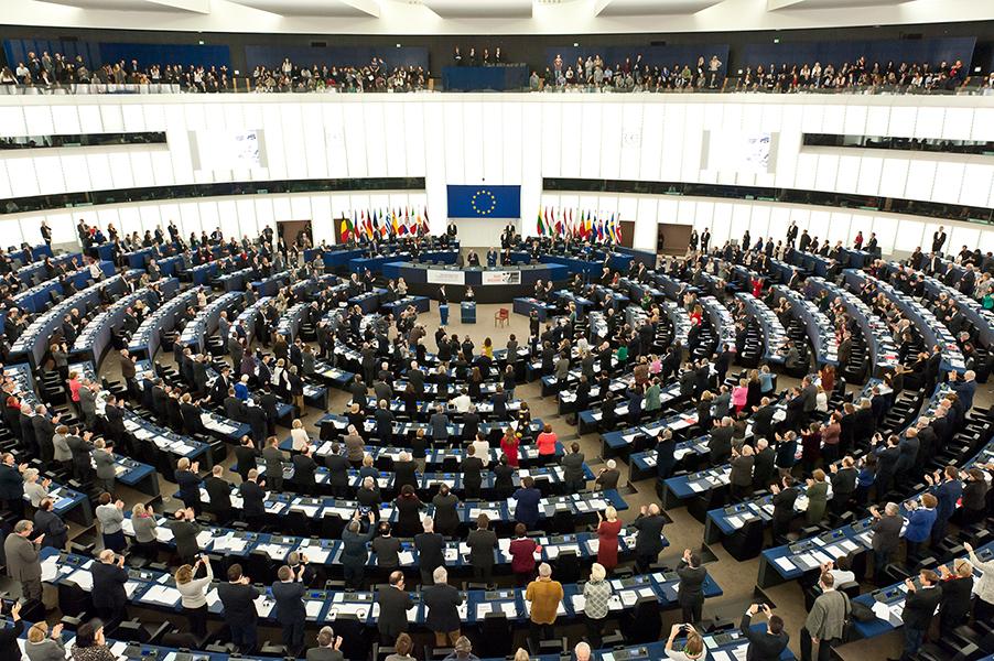 Remise du Prix Sakharov à Raif Badawi – Parlement européen, 16 décembre