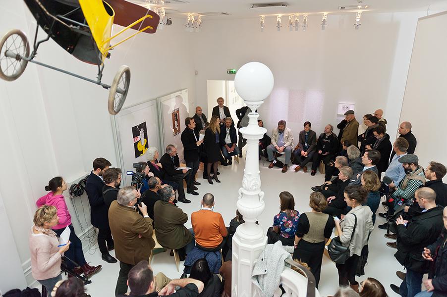 Press conference at Tomi Ungerer Museum – December 16