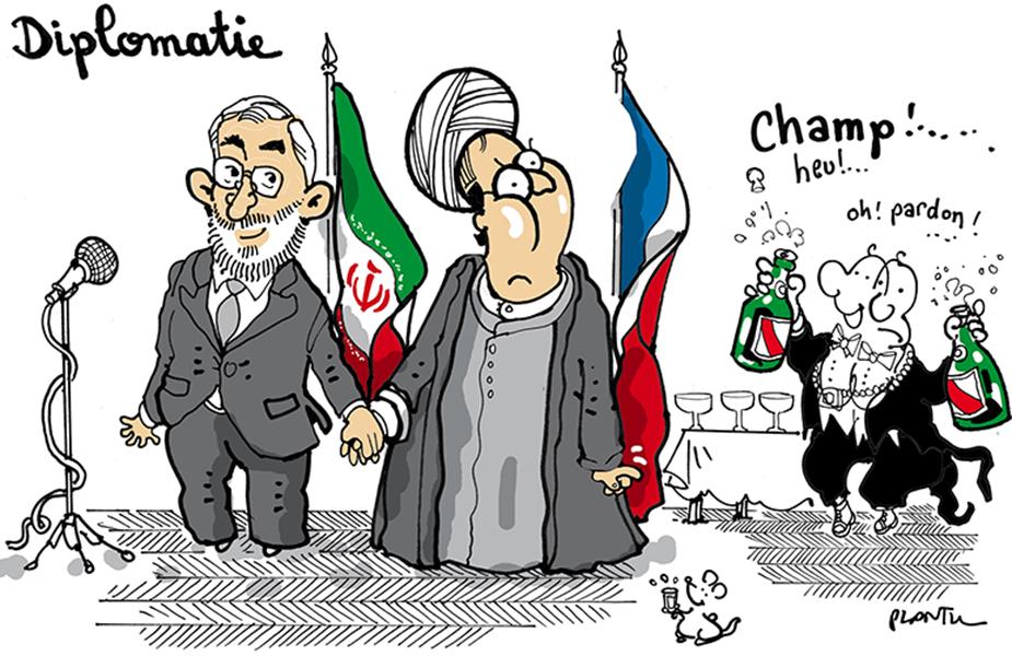 Plantu (France), publié dans Le Monde, le 28 janvier 2016