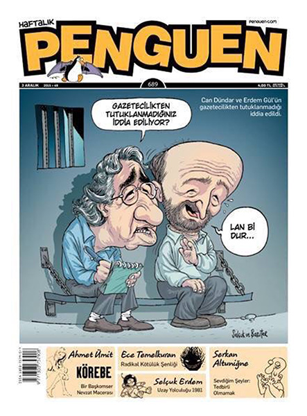 Penguen's cover ( satirical weekly magazine)