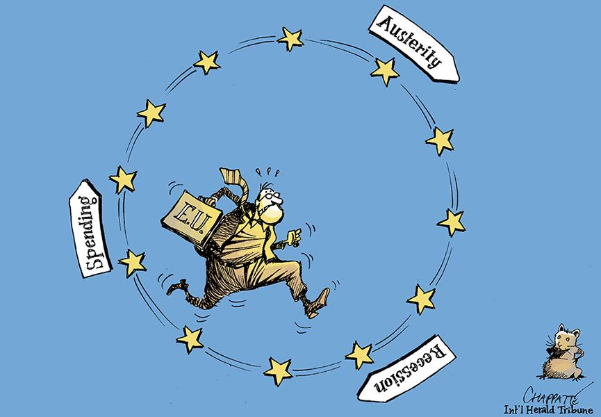 Chappate (Suisse), publié dans le International Herald Tribune