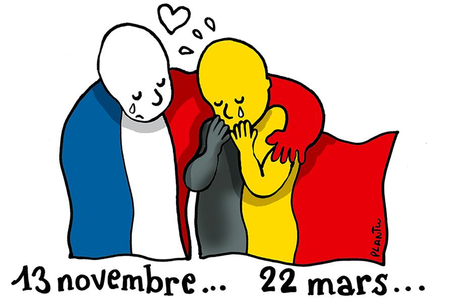 Plantu (France), publié dans Le Monde le 22 mars 2016