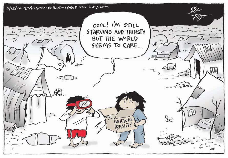 Joel Pett (Etats-Unis), publié dans le Lexington Herald et sur kentucky.com