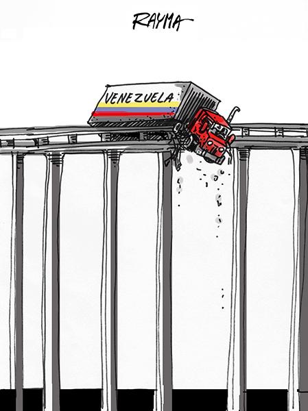 Rayma (Venezuela), paru sur CagleCartoons