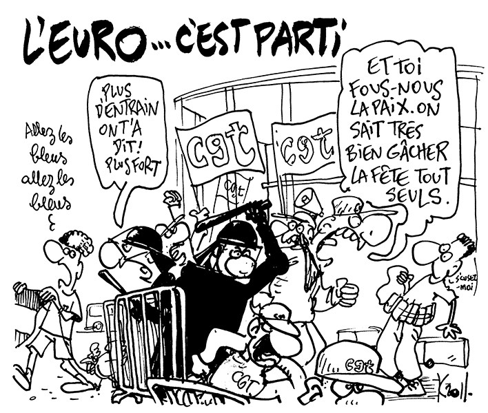 Kroll (Belgique), publié dans Le Soir