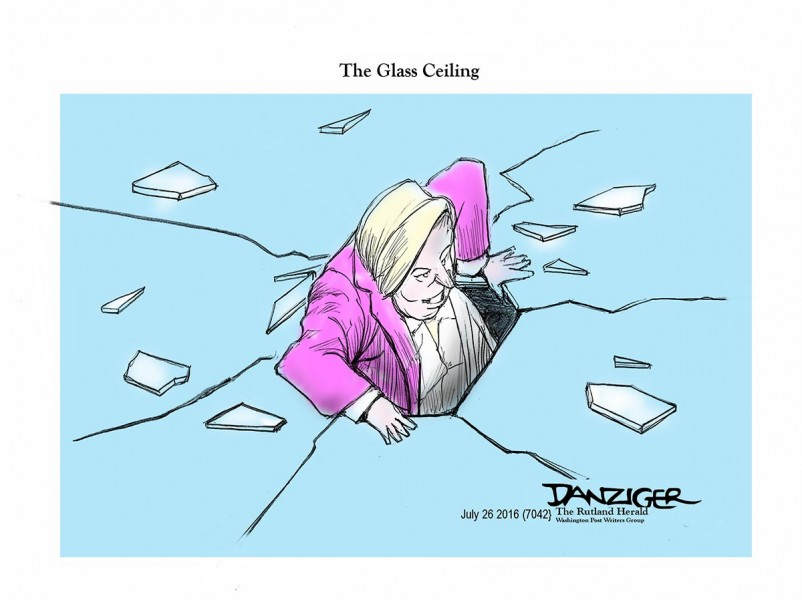 Danziger (USA), published in The Rutland Herald