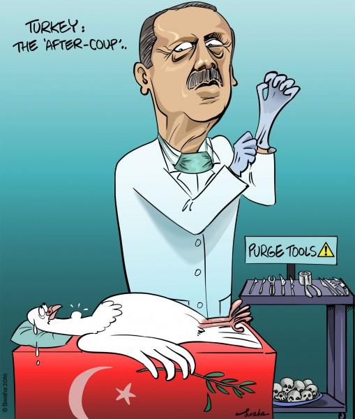 Swaha (Lebanon), published in Cartoonmovement