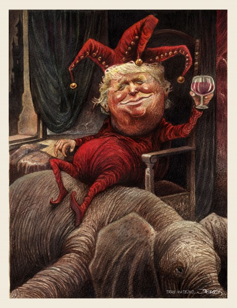 Donald Trump vu par Darío (Mexique)