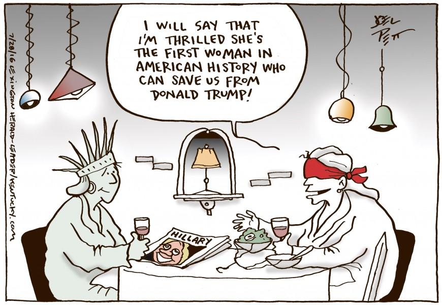 Joel Pett (États-Unis), publié dans Lexington Herald