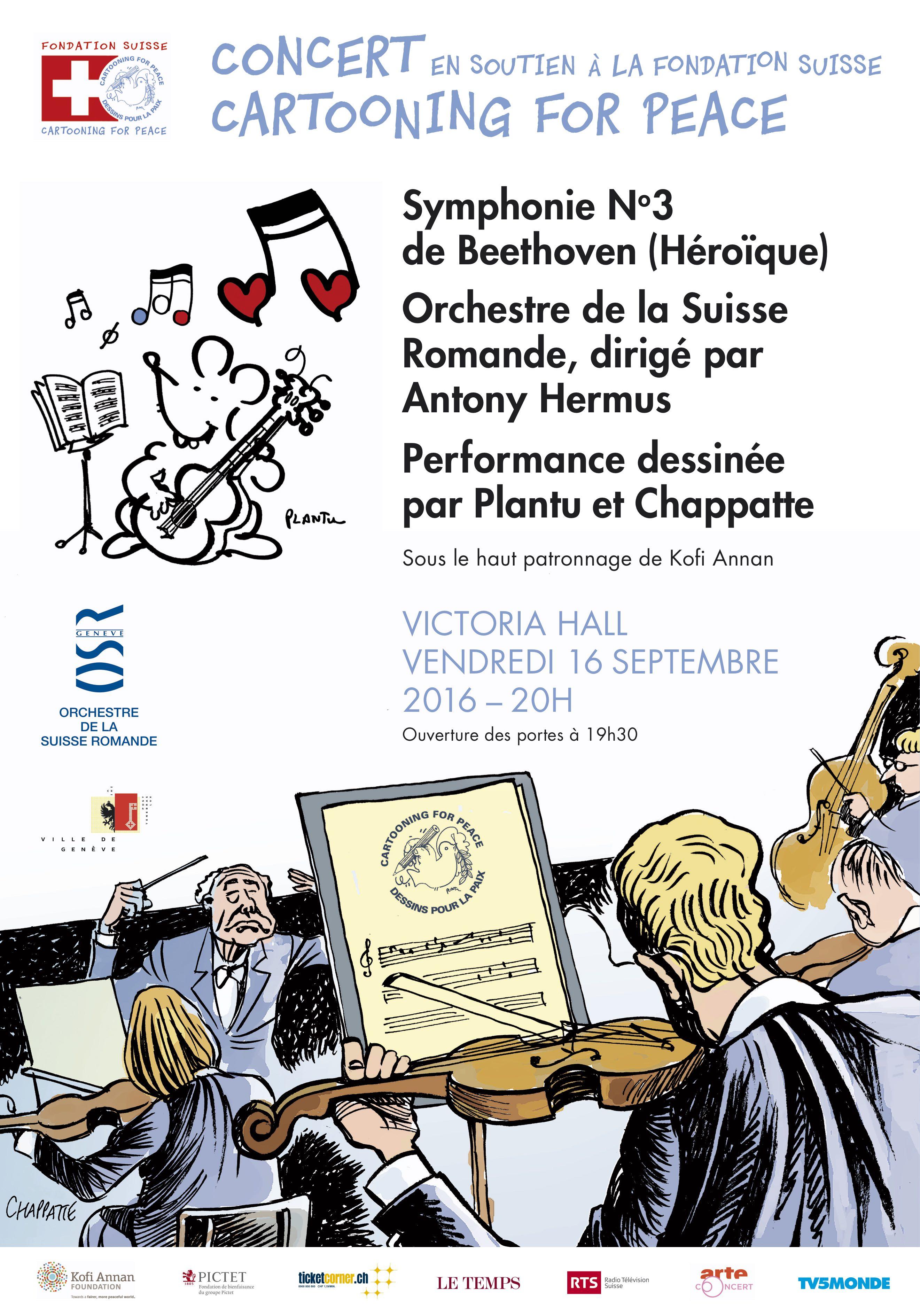 Concert Cartooning for Peace-Affiche-V7