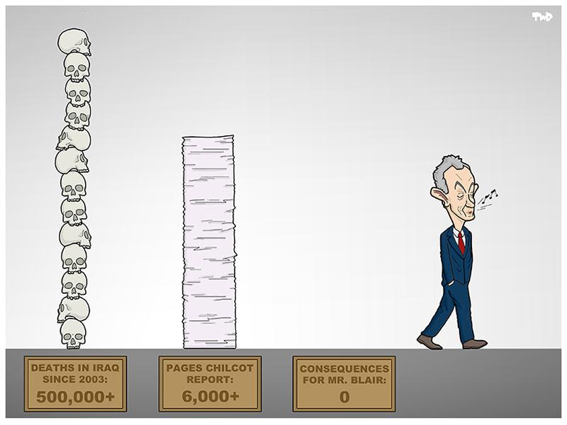 Tjeerd Royaards (The Netherlands), published on cartoonmovement.com