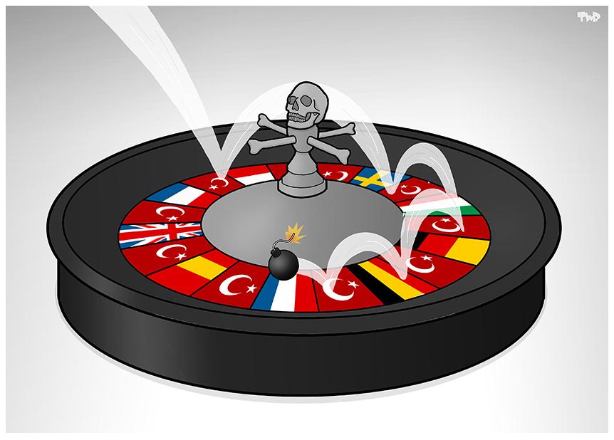 Tjeerd Royaards (Netherlands), published on cartoonmovement.com