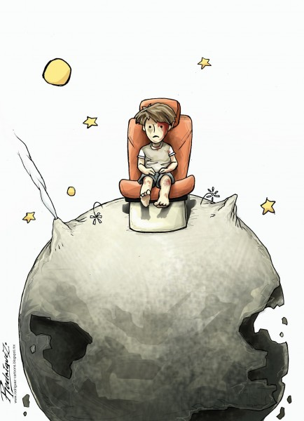 Rodríguez (Mexico), published in Cartoonmovement