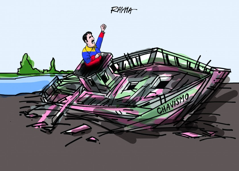 Rayma (Venezuela), published in Caglecartoons