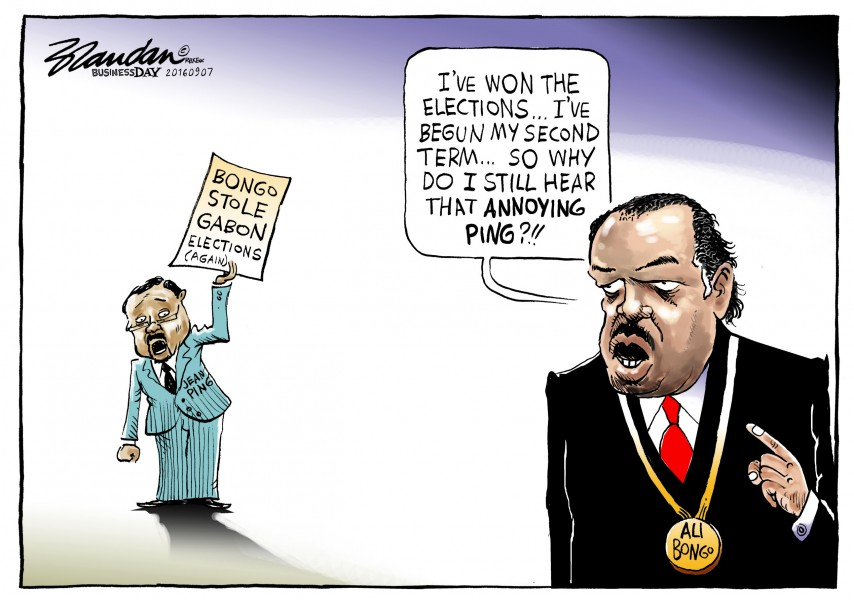 Brandan (South Africa), published in Business Day