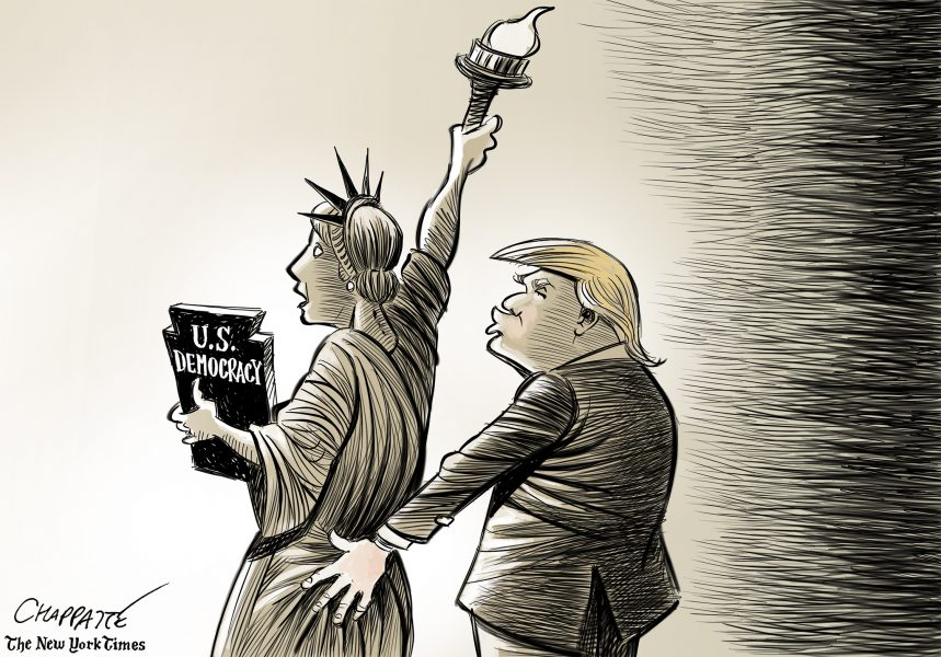 Chappatte (Suisse), publié dans The New-York Times