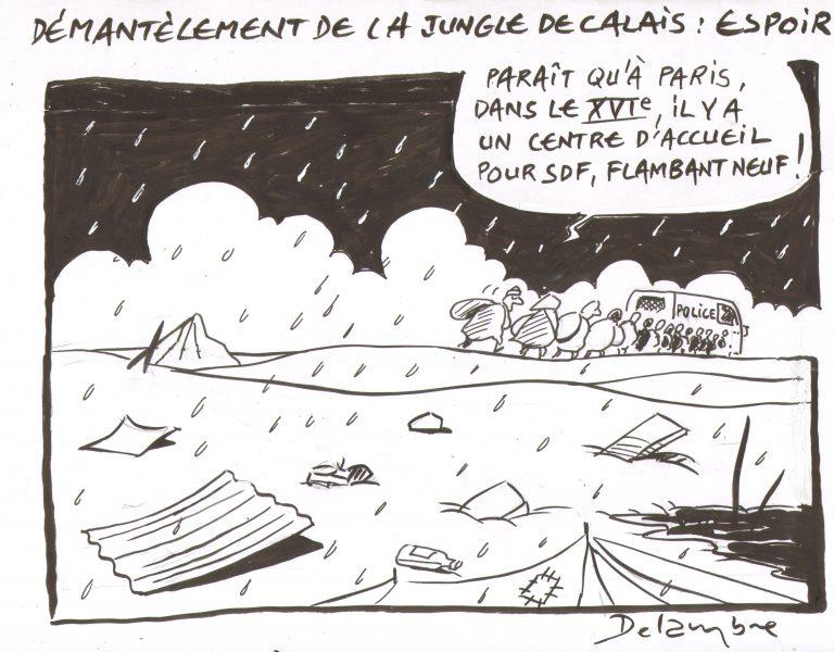 Delambre (France), publié dans Le Canard enchaîné