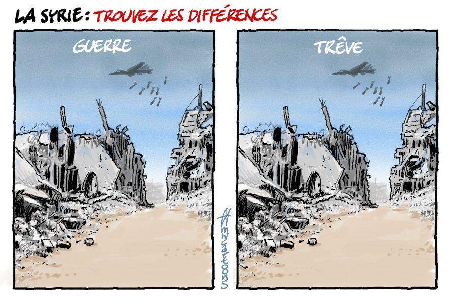 Maarten Wolterink (Pays-Bas), paru sur Cartoon Movement