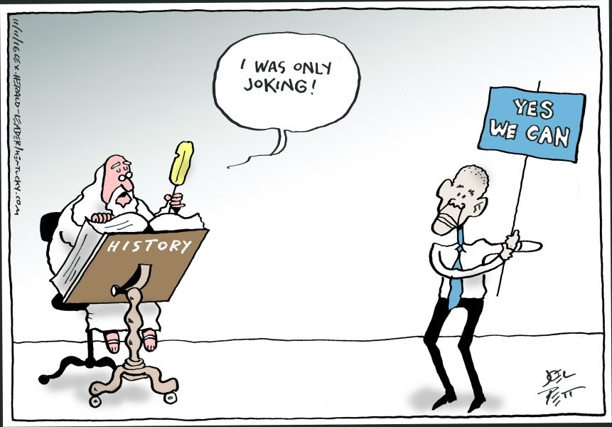 Joel Pett (États-Unis / USA), Lexington Herald-Leader