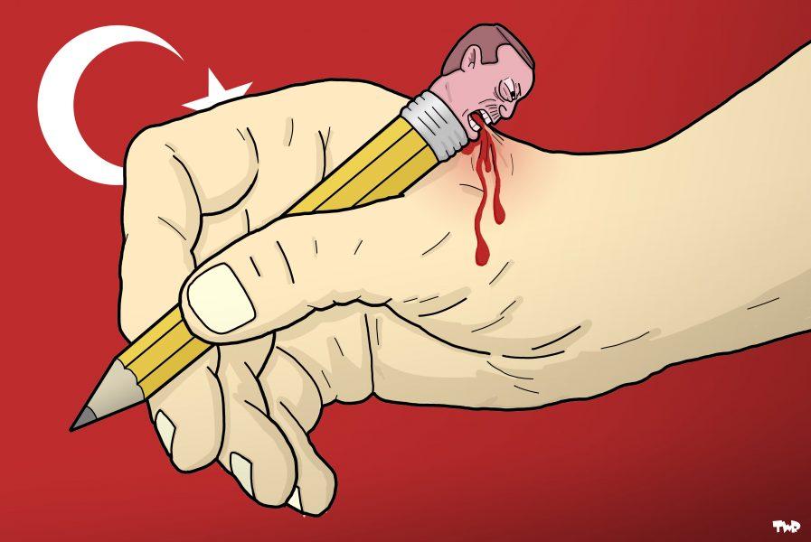 Tjeerd Royaards (Pays-Bas), paru sur Cartoon Movement