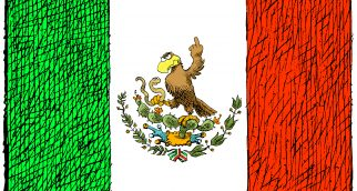 Le drapeau mexicain / The Mexican flag
