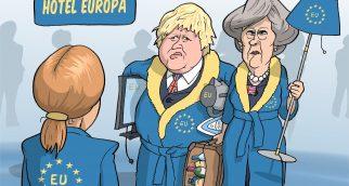 "Boris Johnson: ""Nous libérons la chambre."""
