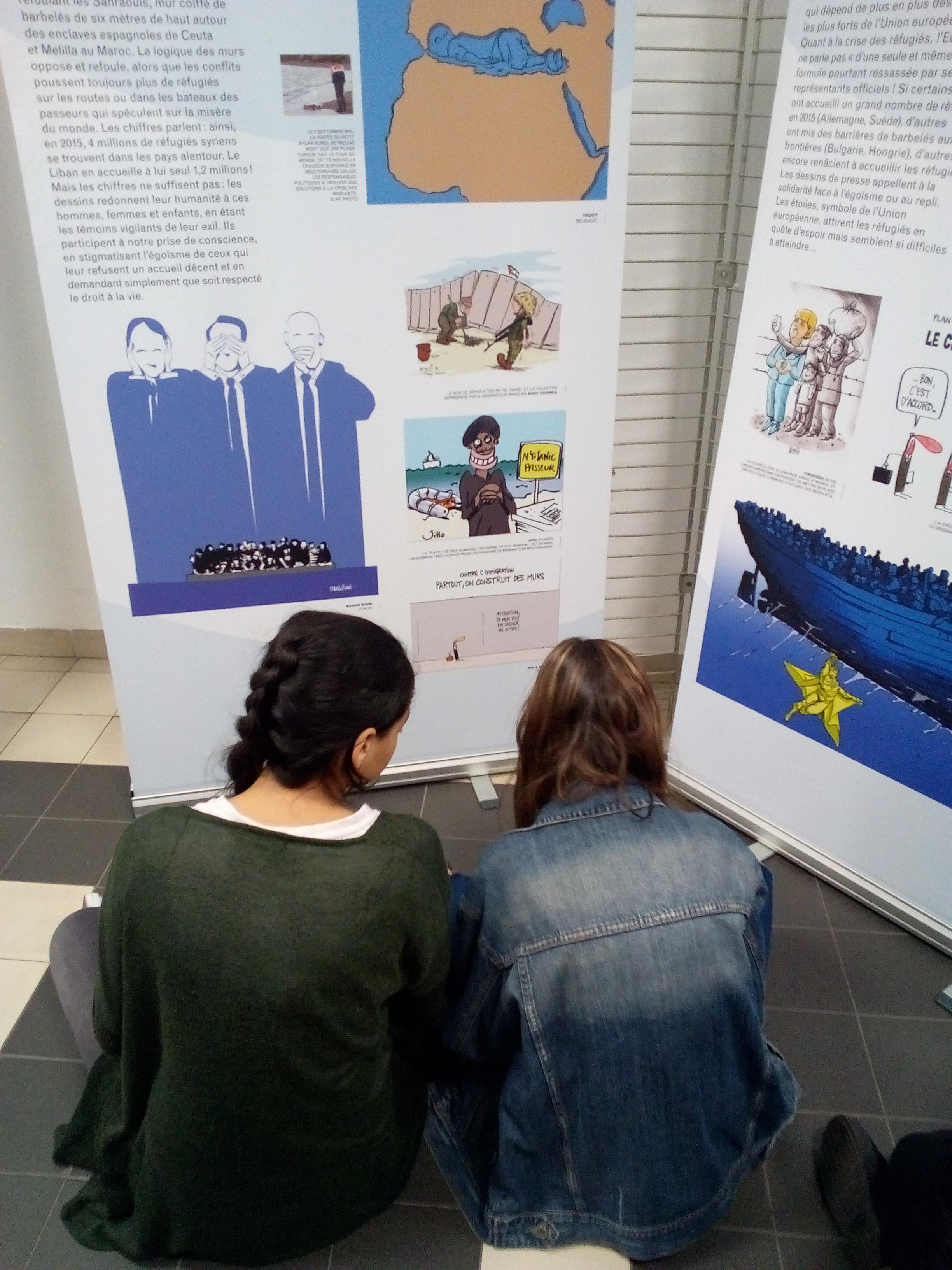 Atelier pédagogique et exposition Cartooning for Peace2