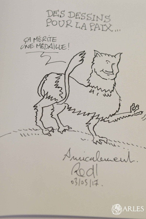 Dessin du dessinateur Red! © Romain Boutillier