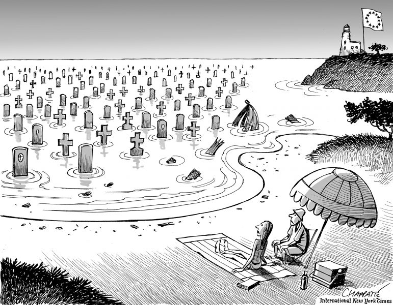 Chappatte (Suisse/Switzerland), International New York Times