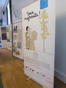 """Exposition pédagogique """"Tous Migrants"""" à la Fondation Goodplanet"""