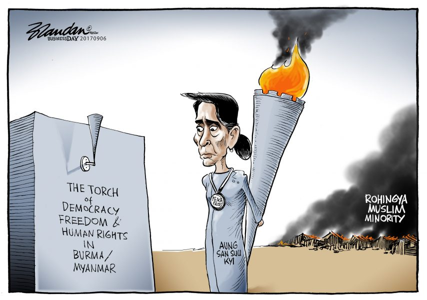 Brandan (Afrique du Sud / South Africa), Business Day