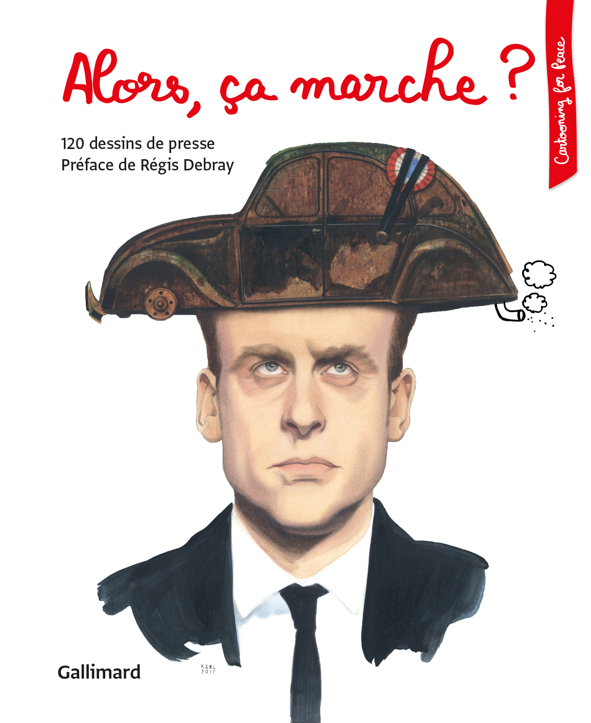 Couverture - Karl (Belgique) © Cartooning for Peace