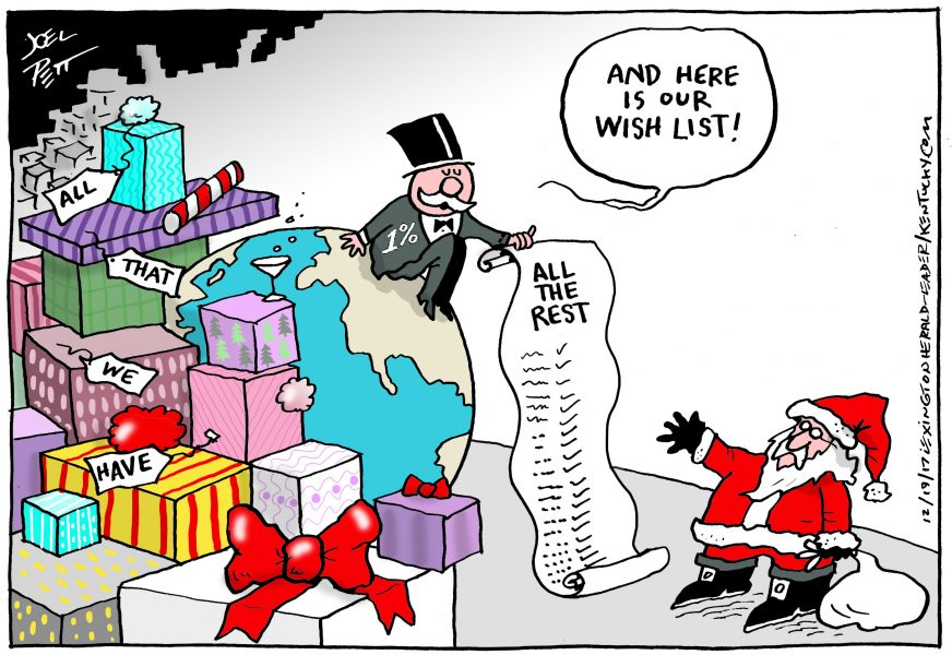 Joel Pett (États-Unis / USA), Lexington Herald