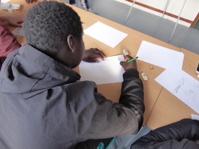 Atelier avec les jeunes suivis par la PJJ