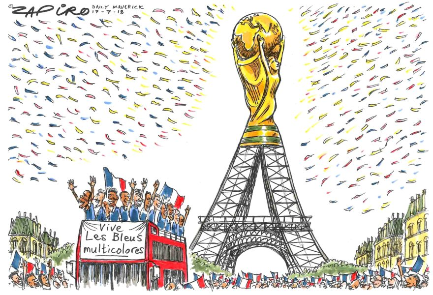 Zapiro (Afrique du Sud / South Africa), Daily Maverick