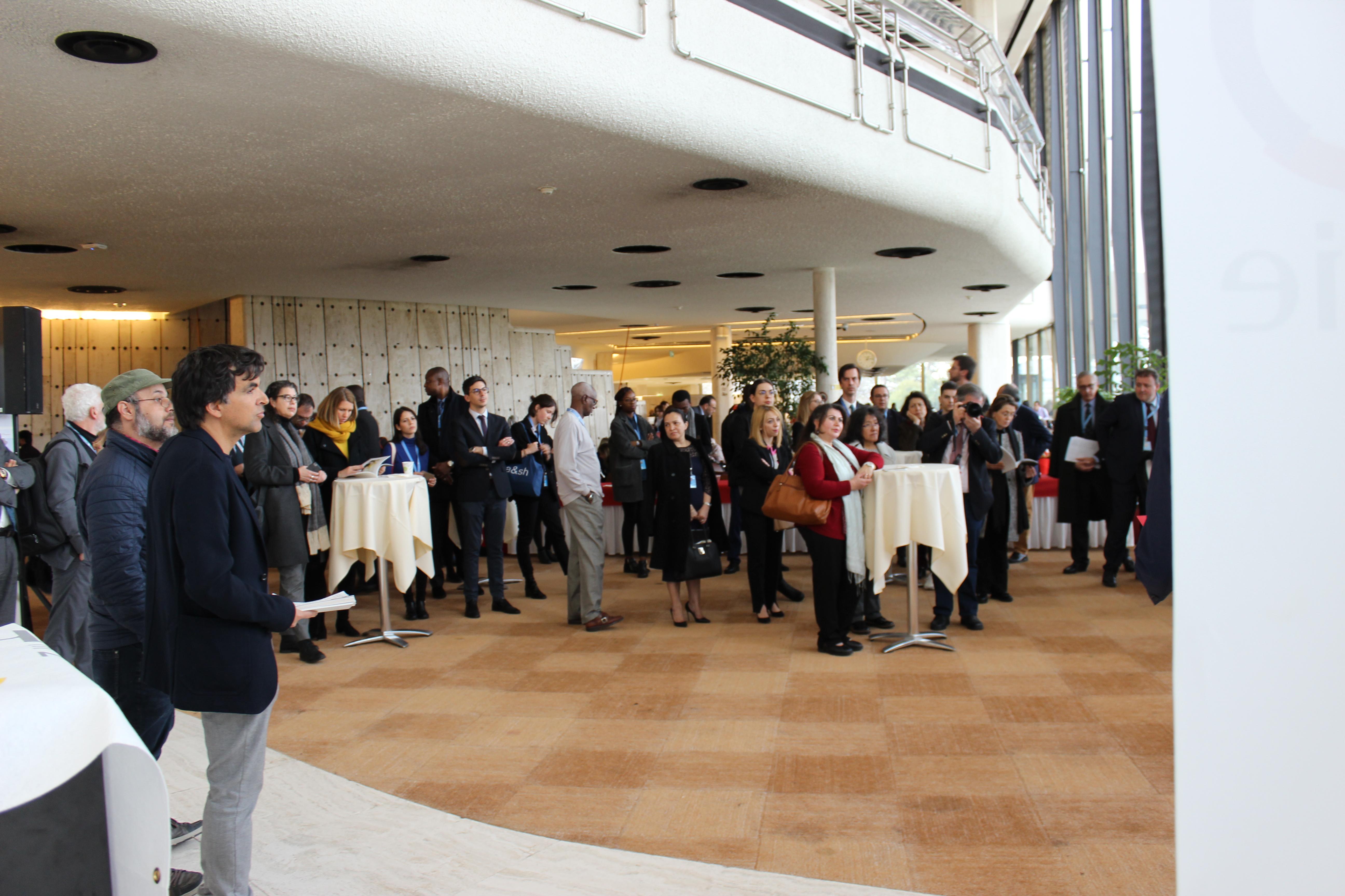 Preview of the exhibition «Human rights – still some way to go?»- photo: UN Geneva : Programme des activités culturelles