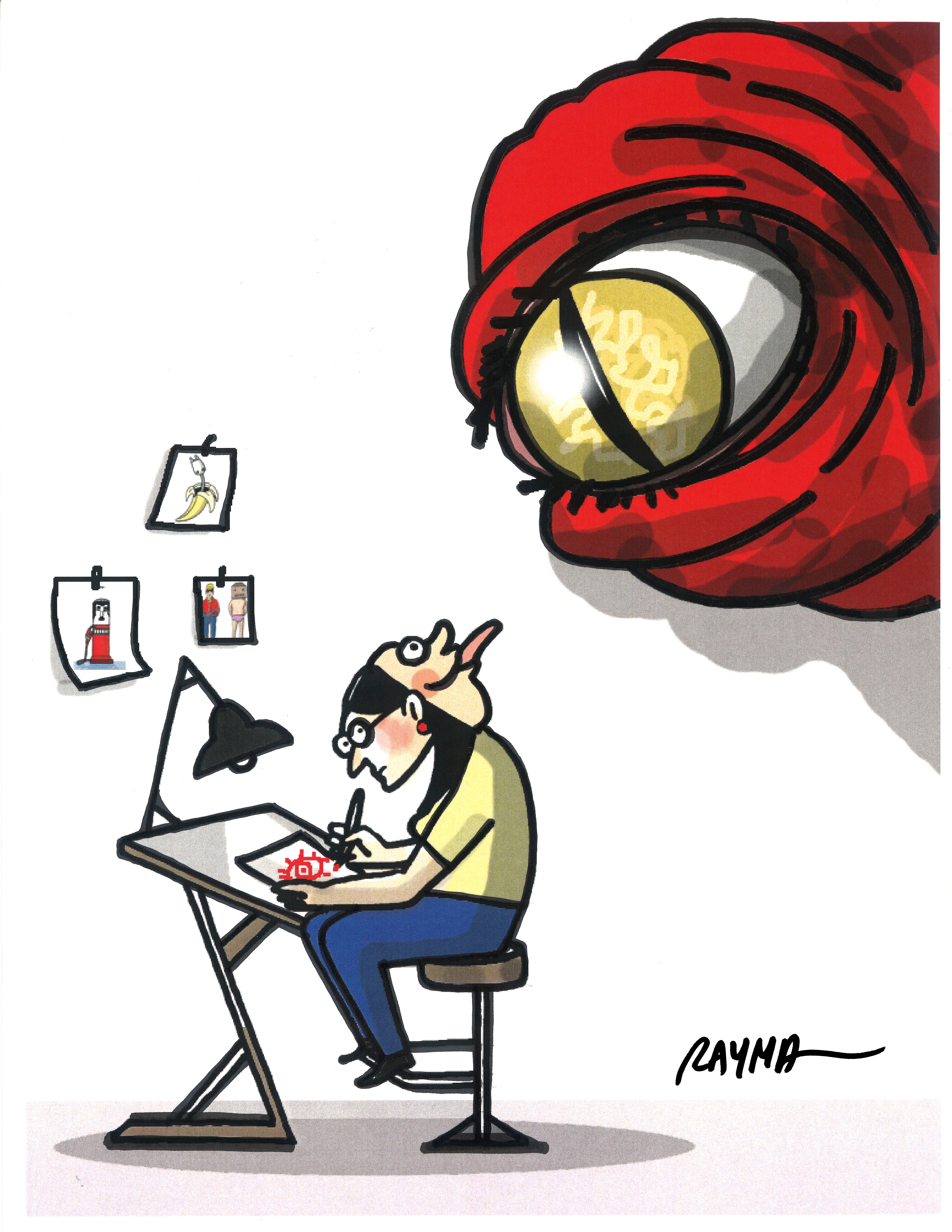 RAYMA-cartoonist-3