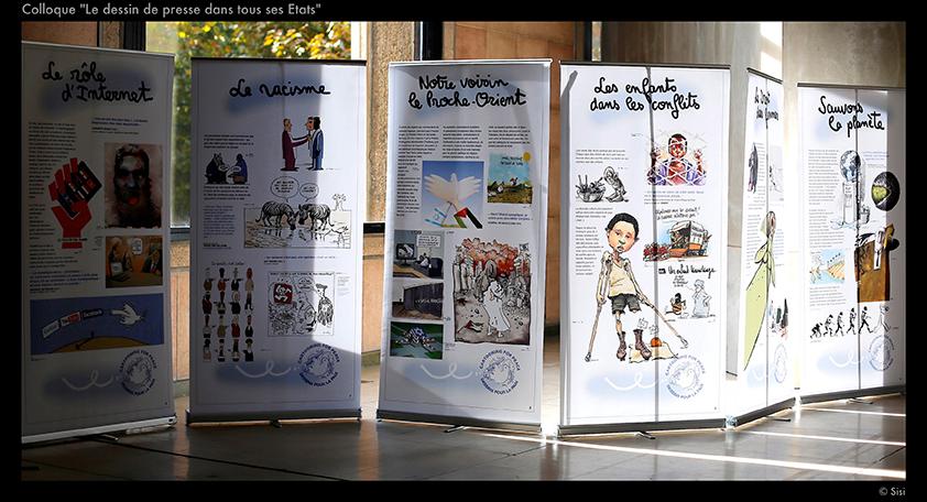Exposition itin rante dessins pour la paix cartooning for peace - Dessin sur la paix ...