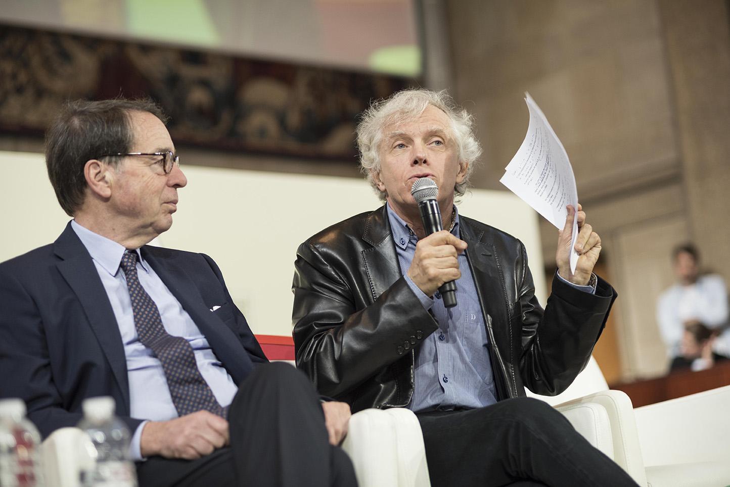 Jean-Noël Jeanneney et Pascal Ory – © Olivier Rolfe